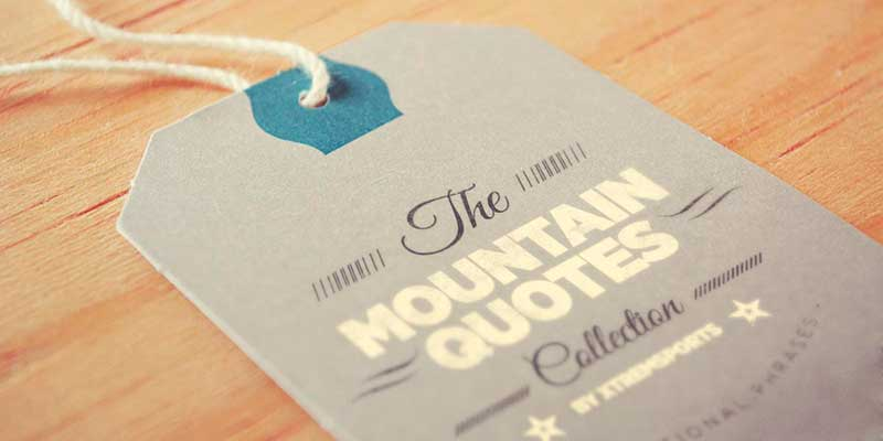 MOUNTAIN QUOTES COLLECTION